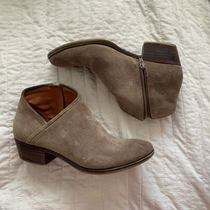 Lucky Brand: Suede Ankle Booties
